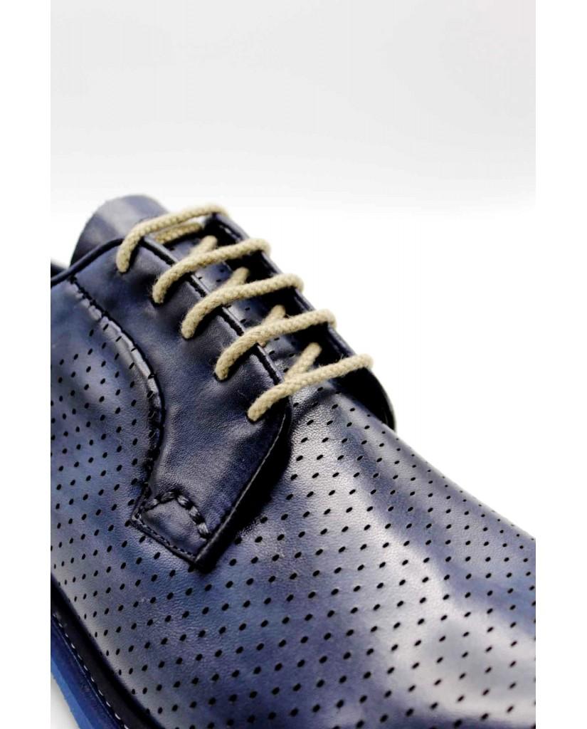 Brecos Stringate F.gomma 40-45 Uomo Blu Fashion
