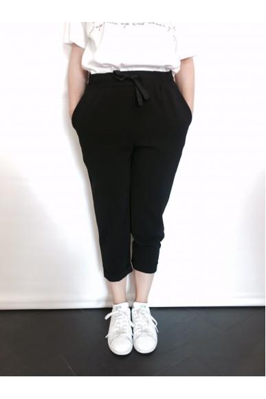 Berna Pantaloni Xs-l Donna Nero Fashion