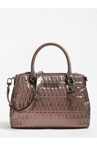 Guess Borse   Brinkley triple cmprtmnt stchl Donna Grigio Fashion
