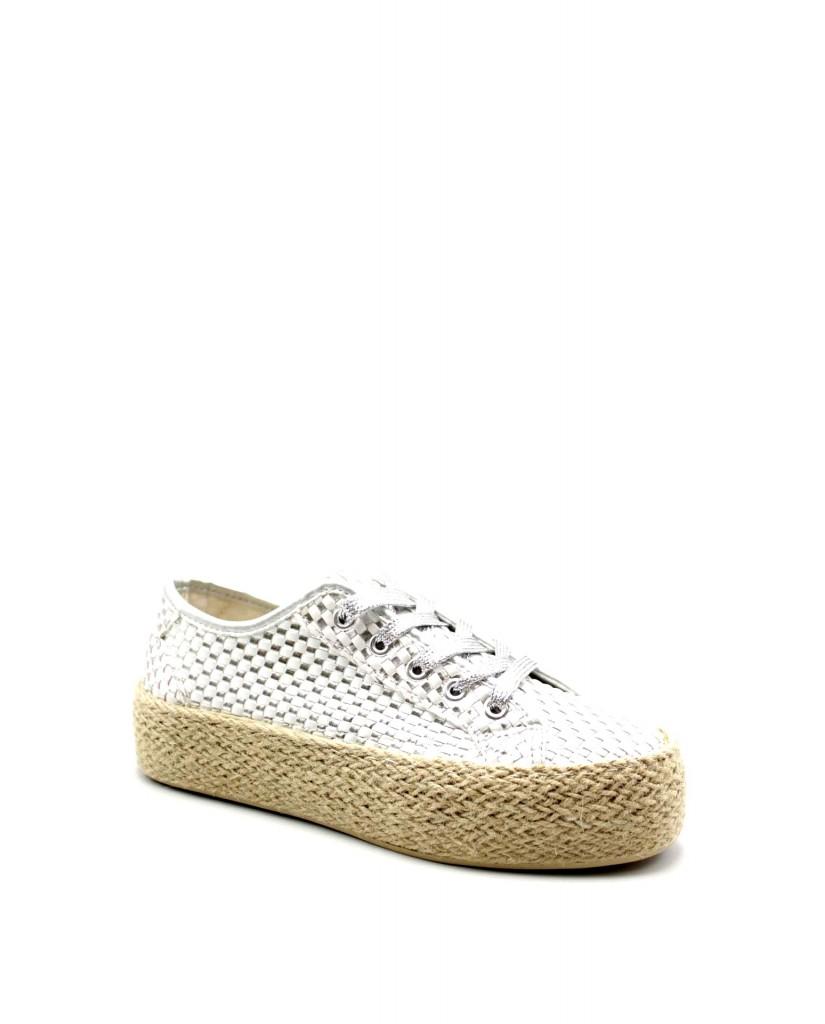 Cafe' noir Sneakers F.gomma Sneakers fascia corda degrade' con Donna Bianco Fashion