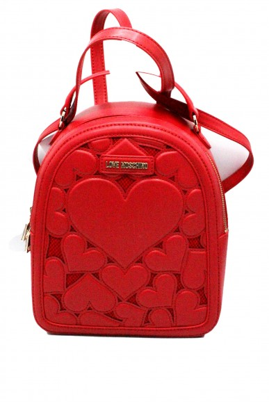 Moschino Backpacks - Zainetto love 2018 jc4058pp15 Donna Rosso Fashion
