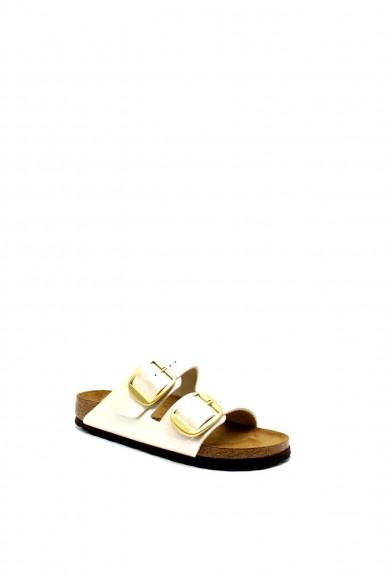 Birkenstock Sandali F.gomma Arizonabuc bi-classic Donna Bianco Fashion