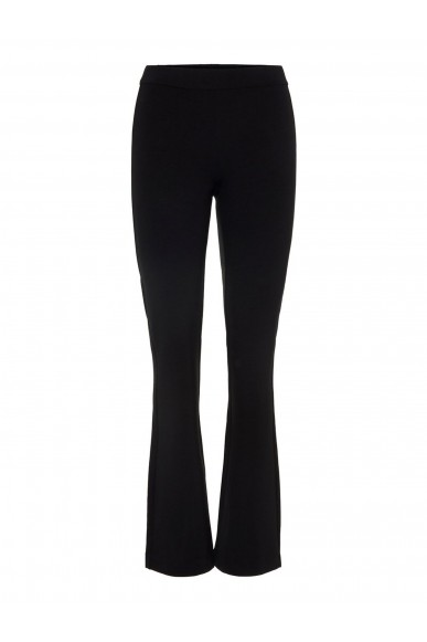 Vero moda Pantaloni   Vmkamma nw flared jersey pant noos Donna Nero Fashion