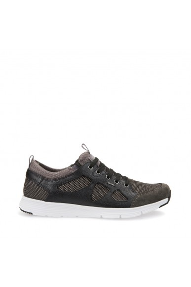 Geox Sneakers F.gomma Snapish Uomo Anthracite/black Casual