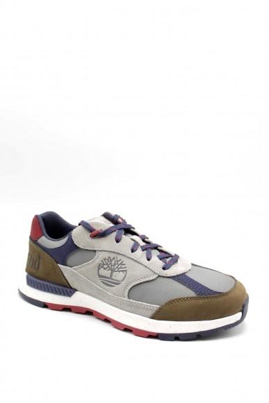 Timberland Sneakers F.gomma Field trekker low fabric/leather Uomo Grigio Fashion