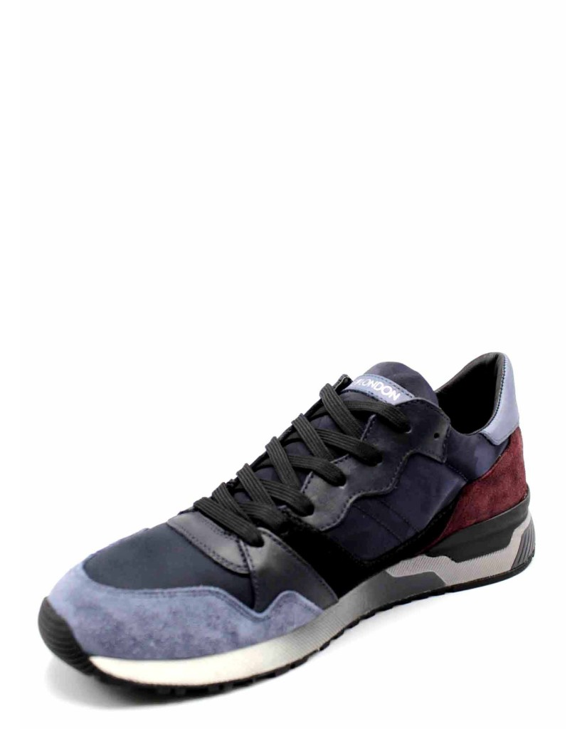 Crime london Sneakers F.gomma Uomo Blu Fashion