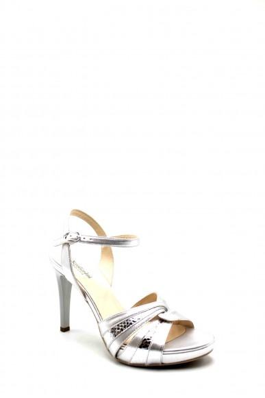 Nero giardini Sandali F.gomma E116501de Donna Argento Fashion