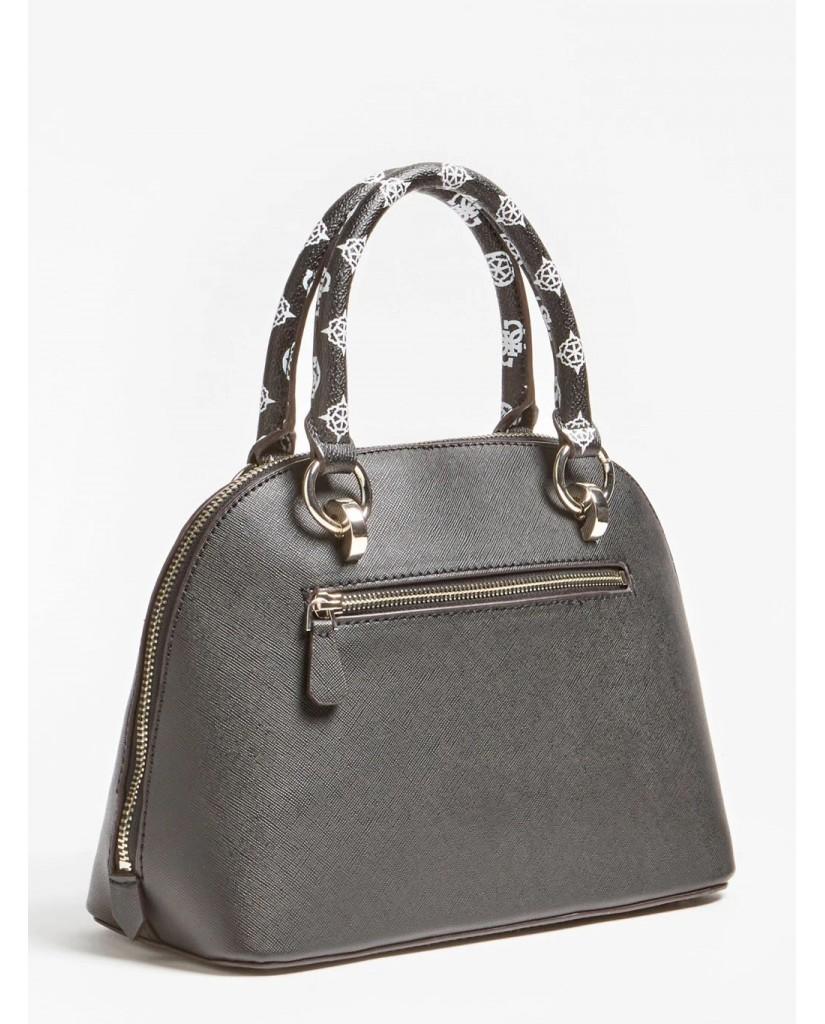 Guess Borse   South bay dome satchel Donna Nero Fashion