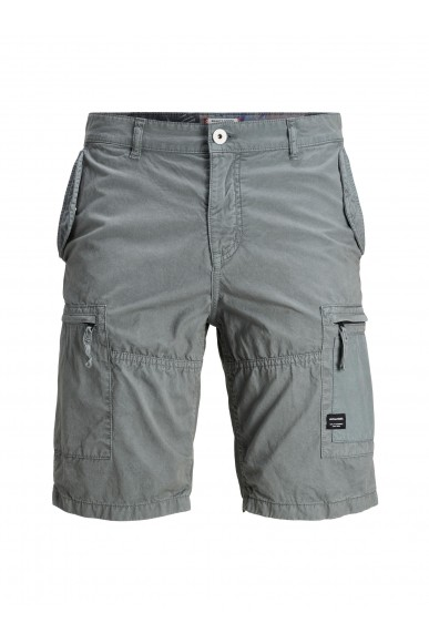 Jackejones Bermuda   Jjinoah jjcargo shorts sa Uomo Grigio Casual
