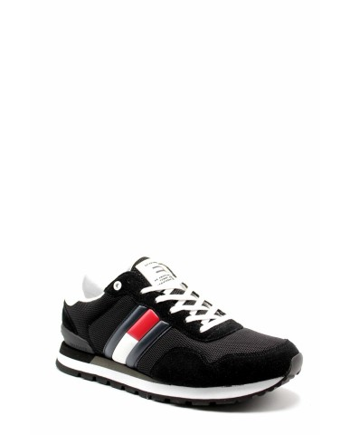 Tommy hilfiger Sneakers F.gomma Casual tommy jeans sneaker Uomo Nero Fashion
