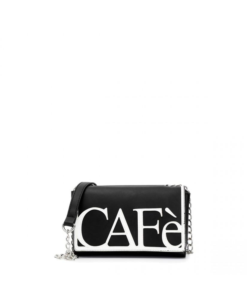 Cafe' noir Pochette   Pochette patch caf