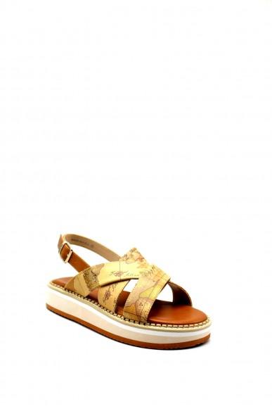 1^classe  Sandali F.gomma 0914 Donna Beige Fashion