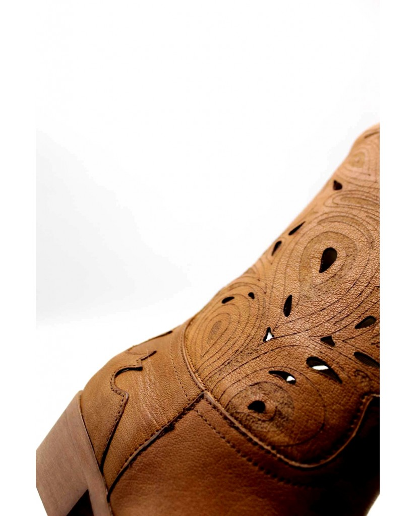Brando Tronchetti F.gomma 36/41 texas 7 Donna Cuoio Fashion