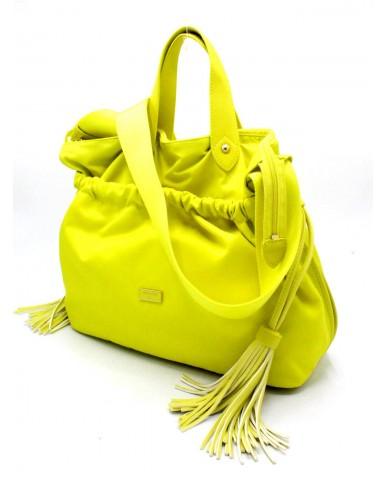 Patrizia pepe Borse Borsa a mano con tracolla Donna Yellow Fashion