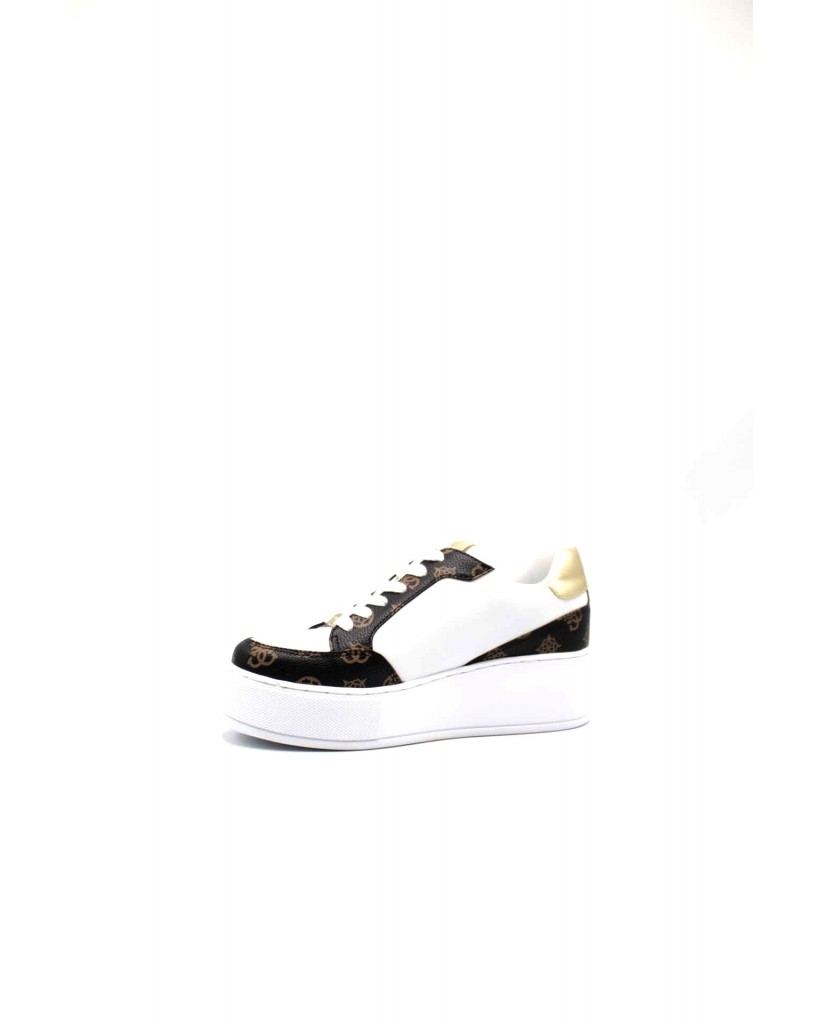 Guess Sneakers F.gomma Neiman/active lady/leather lik Donna Bianco Fashion