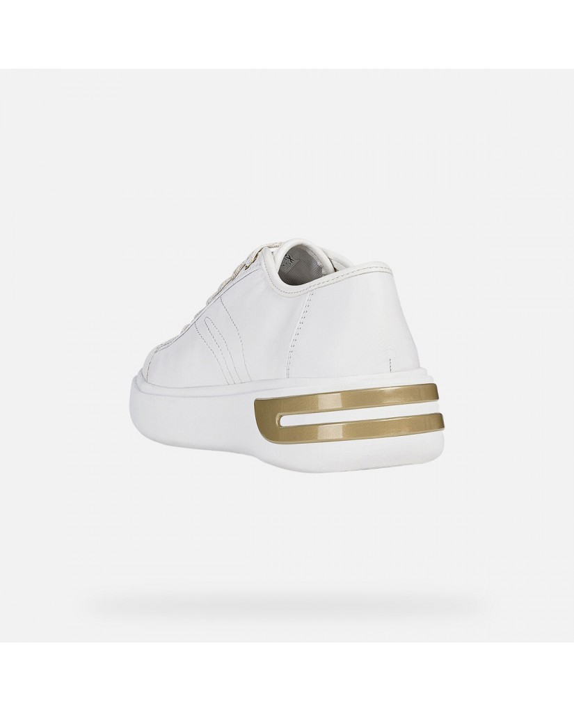 Geox Sneakers   D ottaya a - nappa Donna White
