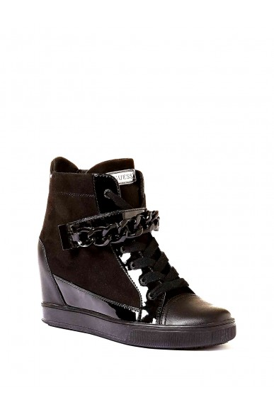 Guess Sneakers F.gomma Flipper3/stivaletto (bootie)/f Donna Nero Fashion
