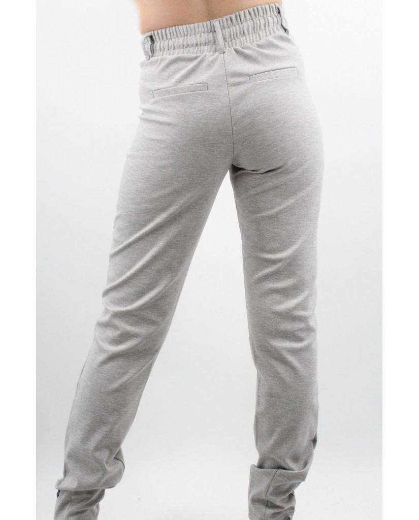B.young Pantaloni Donna Grigio Casual