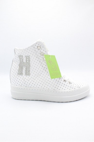 Happiness Sneakers F.gomma 36/41 Donna Bianco Fashion