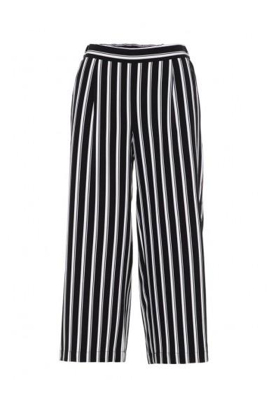 Vero moda Pantaloni   Vmcoco hw culotte print pants noos Donna Nero Fashion