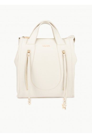 Liu.jo Backpacks Ecopelle Backpack bag Donna Beige Fashion