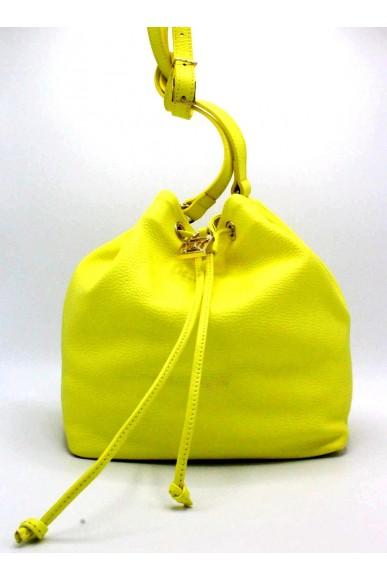 Patrizia pepe Borse Secchiello Donna Giallo Fashion
