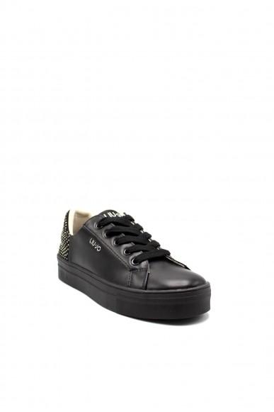 Liu.jo Sneakers F.gomma Alicia 144 Donna Nero Fashion