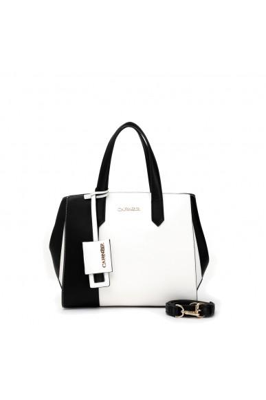 Cafe' noir Borse   Shopping bicolore Donna Bianco Fashion