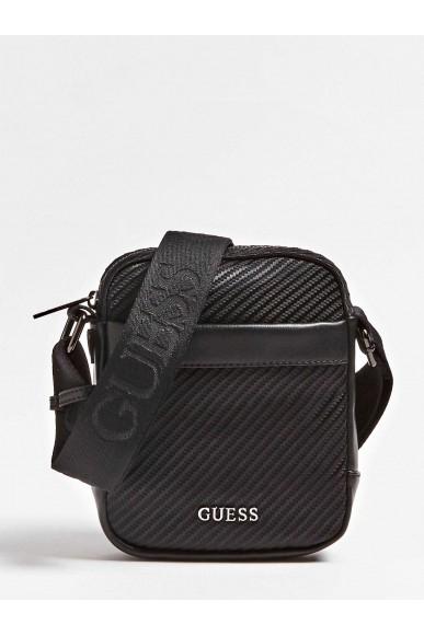 Guess Tracolle   Global functional mn doc case Uomo Nero Fashion