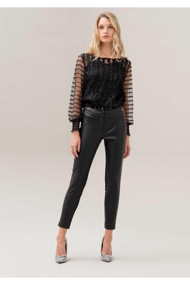 Fracomina Leggings   117 leggings black Donna Nero Fashion