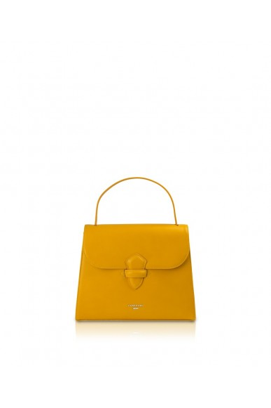 Pomikaki Borse Donna Mustard Fashion