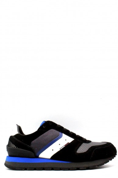 Tommy hilfiger Sneakers   40-45 baron 1c1 Uomo Nero-blu Casual