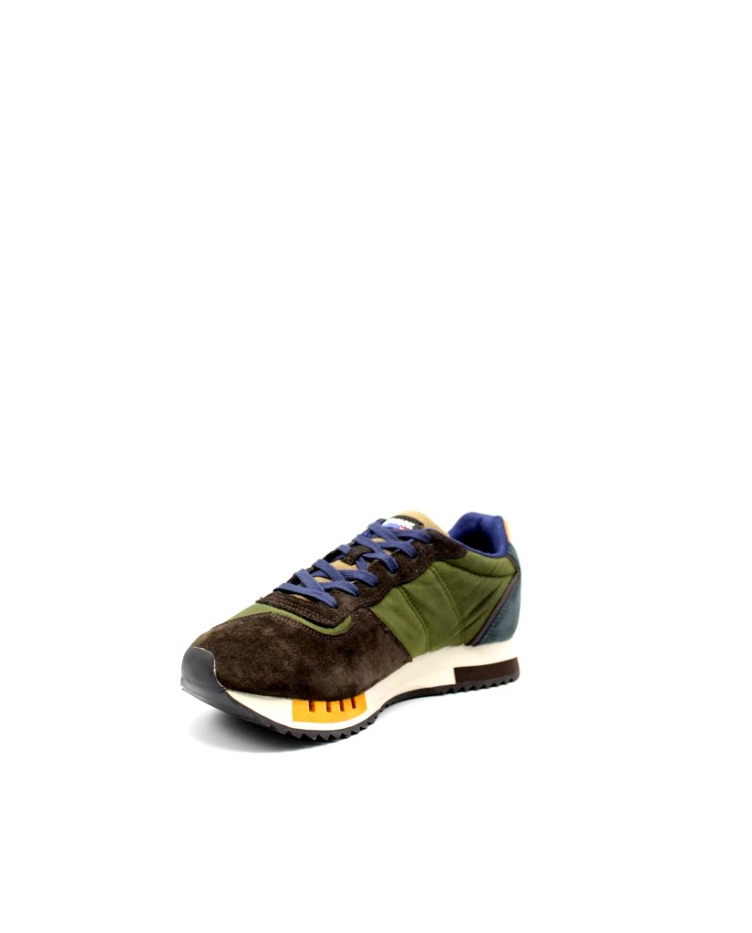 Blauer Sneakers F.gomma Queens01 Uomo Verde Fashion