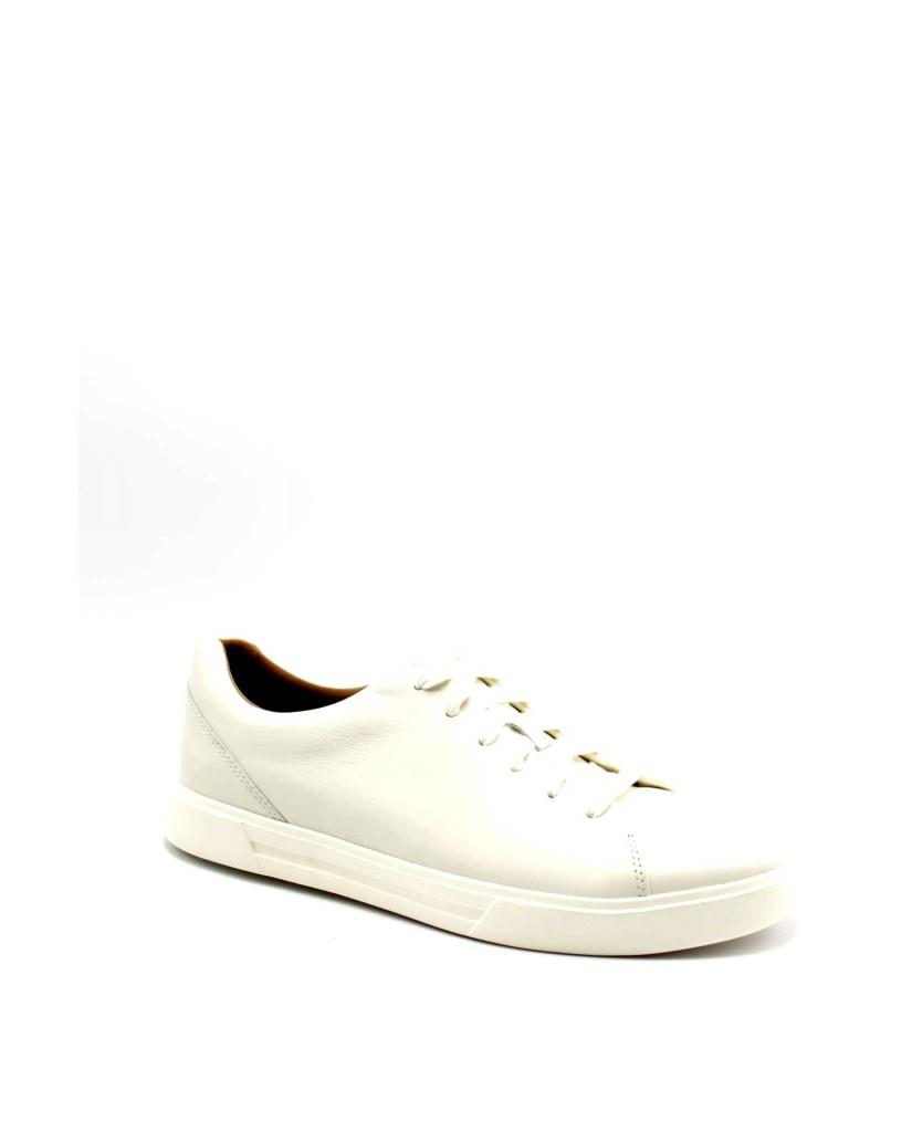 Clarks Sneakers F.gomma 40-45 Uomo Bianco