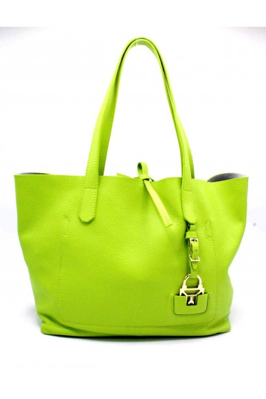 Patrizia pepe Borse Shopping bag morbida Donna Green Fashion