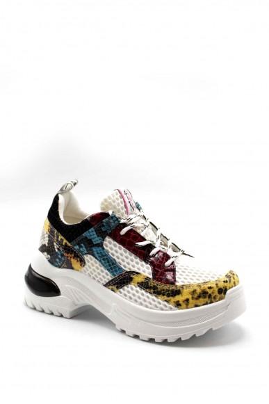 Vitamina Sneakers F.gomma 50012 Donna Bianco Fashion