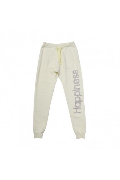 Happiness Pantaloni Xs-m Donna Giallo
