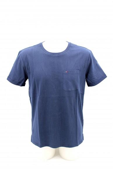 Tommy hilfiger T-shirt Uomo Blu Casual