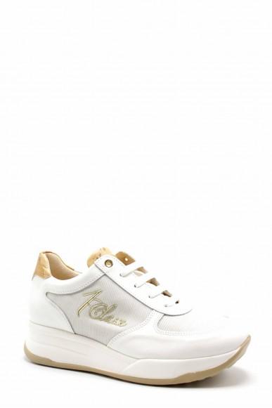 1^classe  Sneakers F.gomma 36/40 Donna Bianco Fashion