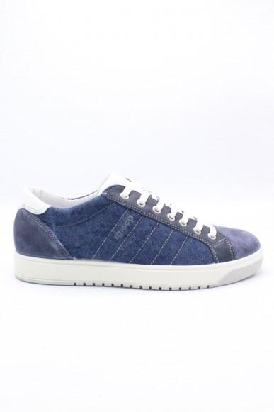 Igieco Sneakers F.gomma 39/46 Uomo Blu Fashion