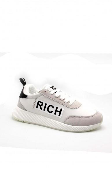 Richmond Sneakers F.gomma 36/40 1223 Donna Bianco Fashion