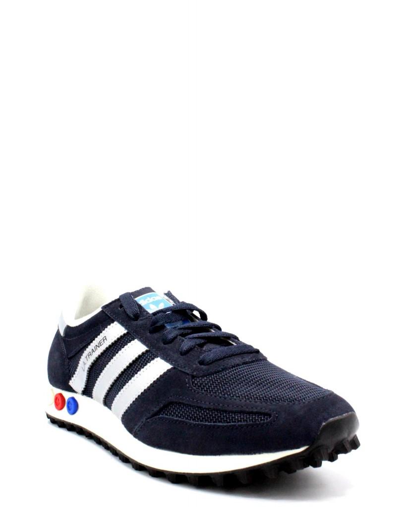 Adidas Sneakers F.gomma 39/46 la trainer Uomo Argento-blu Sportivo