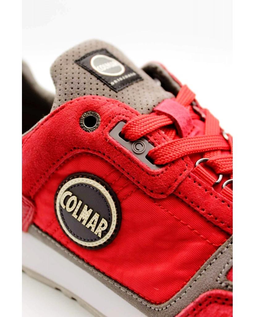 Colmar Sneakers F.gomma 40/45 Uomo Rosso Fashion
