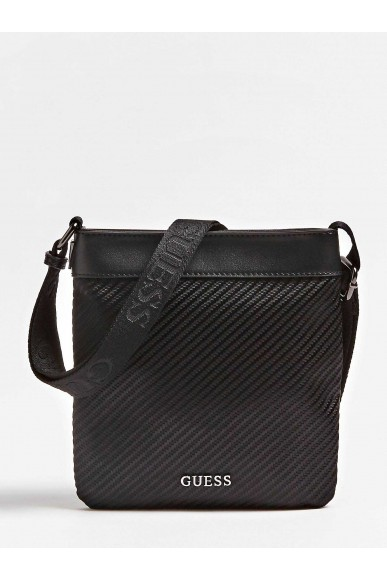 Guess Tracolle   Global functional mn flat xbod Uomo Nero Fashion