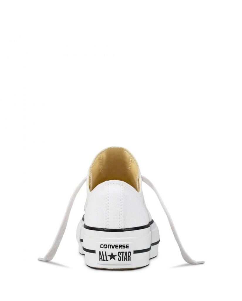 Converse Sneakers F.gomma Ctas lift ox Donna Bianco Fashion