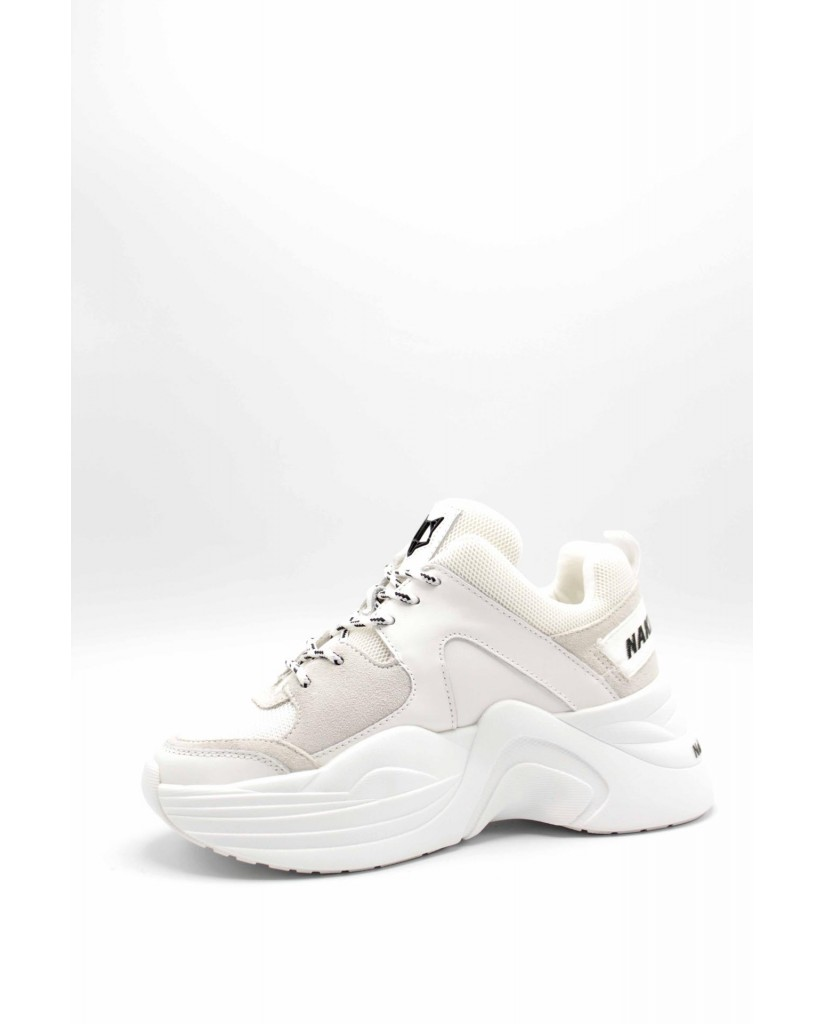 Naked wolfe Sneakers F.gomma Nwstrack Donna Bianco Fashion