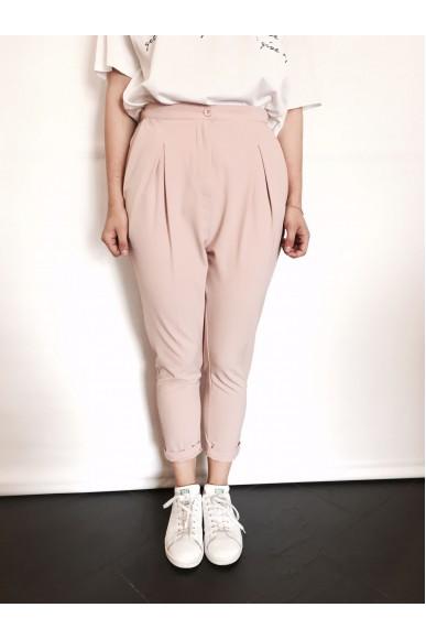 Berna Pantaloni 38-44 Donna Cipria Fashion
