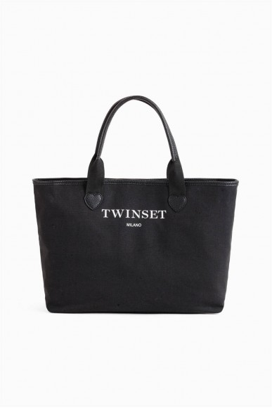 Twin set Borse Donna Nero Fashion