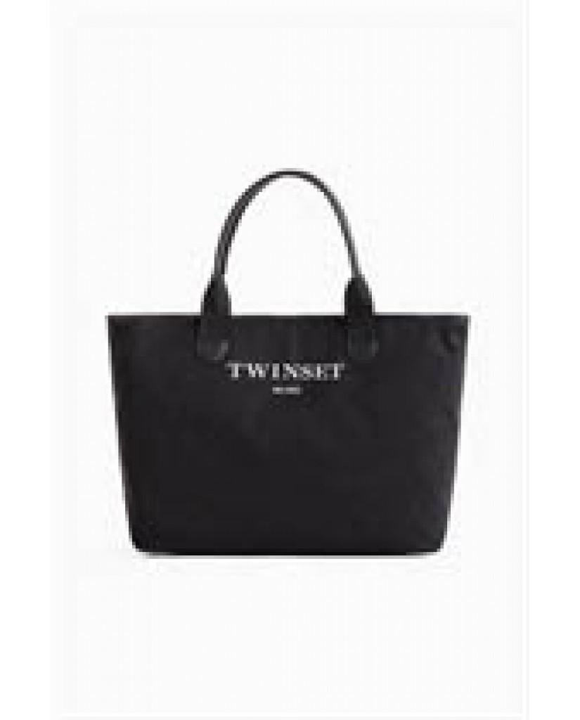 Twin set Borse Donna Nero Fashion