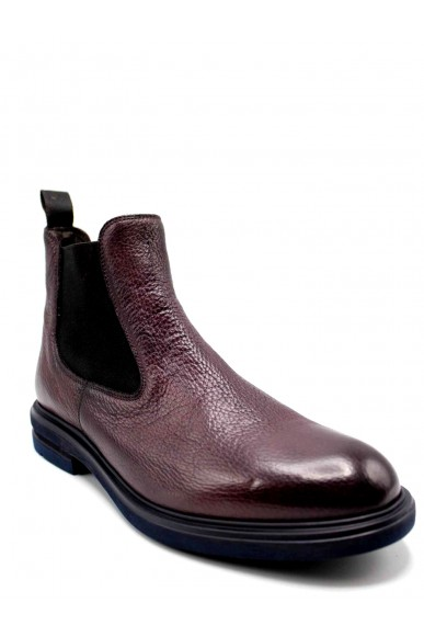 Brecos Beatles F.gomma 40-45 Uomo Bordo Fashion